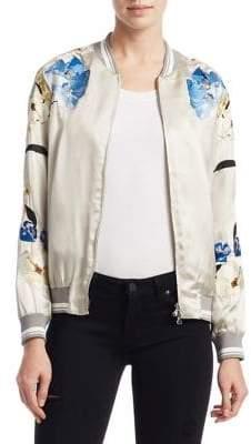 3.1 Phillip Lim Floral Bomber Jacket
