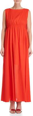 Pierantonio Gaspari Sleeveless Empire Waist Dress