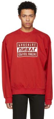 Unravel Red Explicit Sweatshirt