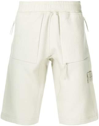 Stone Island knee-length track shorts