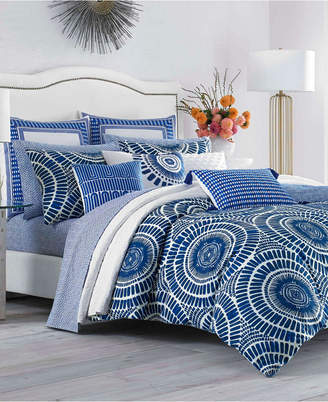 Trina Turk Samba De Roda Blue Aster Full/Queen Comforter Set