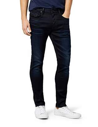 G Star G-Star Men's 3301 Slim Jeans, Blue (Dark Aged)