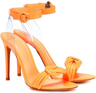 Alexandre Birman Vicky 100 leather sandals