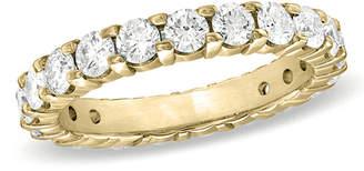 Zales 1 CT. T.W. Certified Diamond Eternity Wedding Band in 18K Gold (G/SI2)