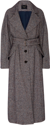 Rachel Comey Helm Houndstooth Belted Trench Coat $745 thestylecure.com