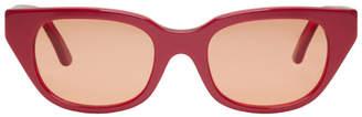 Heron Preston Red Style Sunglasses