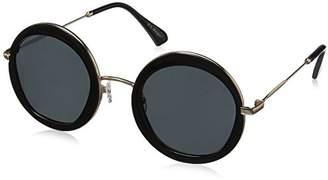 A.J. Morgan Women's Clique Round Sunglasses $24 thestylecure.com