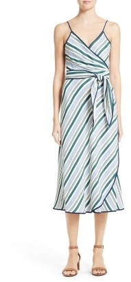 Women's Tory Burch Villa Wrap Dress $495 thestylecure.com