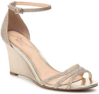 Badgley Mischka Antonette Wedge Sandal - Women's