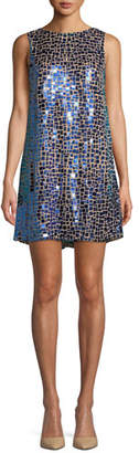 Alice + Olivia Clyde Embellished A-Line Shift Dress