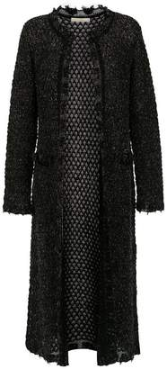 Cecilia Prado Nancy knit trench coat