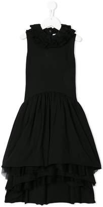 Nununu sleeveless ruffle dress