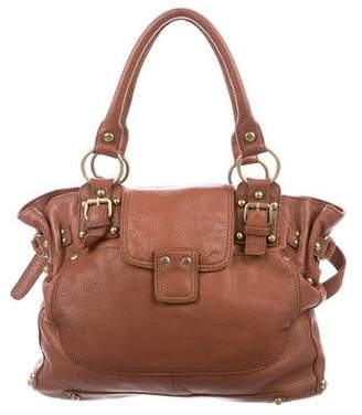 Linea Pelle Pebbled Leather Shoulder Bag
