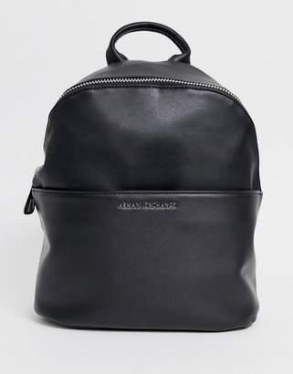 Armani Exchange backpack with front pocket