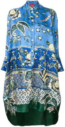 F.R.S For Restless Sleepers tropical print drape tunic