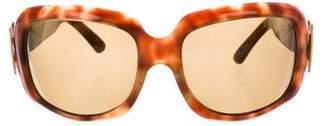 Roger Vivier Oversize Tinted Sunglasses