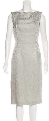 L'Wren Scott Jacquard Sleeveless Dress
