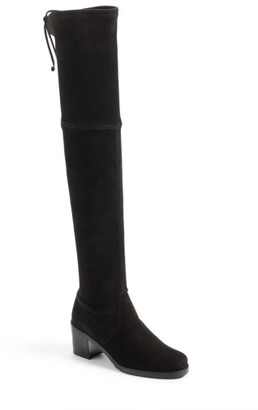 Women's Stuart Weitzman Elevated Over The Knee Boot $798 thestylecure.com