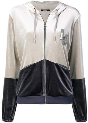 Liu Jo two-tone logo jacket