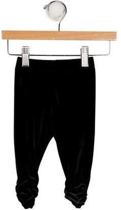 Ralph Lauren Girls' Velvet Leggings