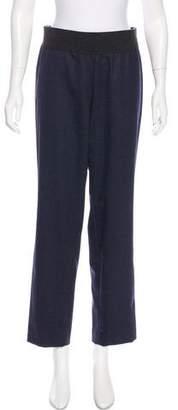 Les Copains Wool High-Rise Pants
