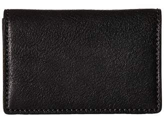 Bosca Washed Collection - Full Gusset Card Case