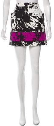 Alexander Wang Printed Mini Skirt