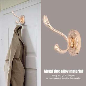 VGEBY Antique Bathroom Metal Door Towel Hanger Holder Clothes Coat Hat Bag Hook Wall Mount, Door Towel Hook, Door Towel Hanger