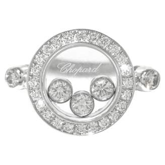 Chopard Happy Curves white gold ring