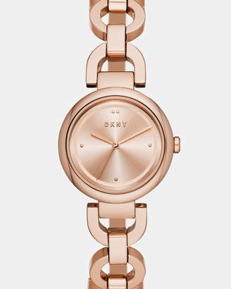 DKNY Eastside Rose Gold-Tone Analogue Watch