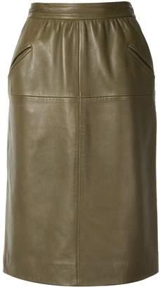 Loewe (ロエベ) - Loewe Pre-Owned レザースカート