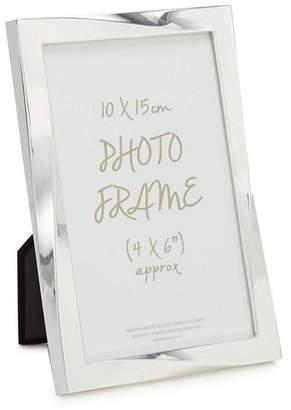 Debenhams Home Collection - Silver Twisted Photo Frame