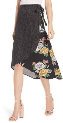 Bishop + Young Mix Media Skirt