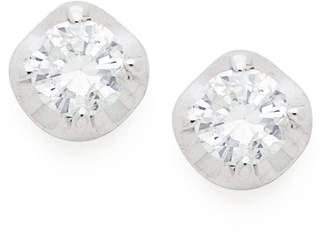 soprasolito K18WG ダイヤモンド スタッドピアス ホワイトゴールド