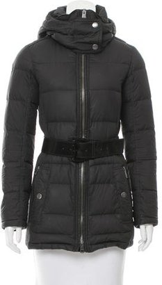 Burberry Brit Belted Puffer Coat $395 thestylecure.com