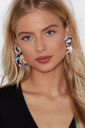 Nasty Gal Candy Dreaming Sequin Earrings