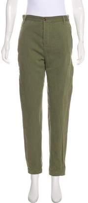 Etoile Isabel Marant High-Rise Straight-Leg Pants