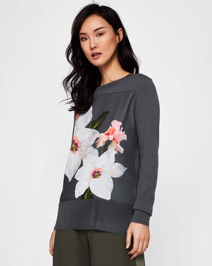 Sweater Mit Gewebtem Chatsworth