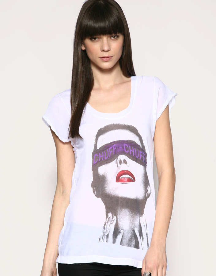 Religion Clubbed To Death Chuff Chuff Silk Tee