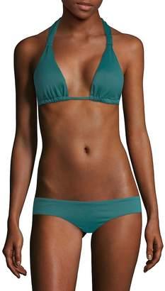 Eberjey Women's Solid Lennon Bikini Top