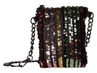 Steve Madden Sequin Belt Bag on Matte Strap