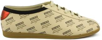 Gucci Falacer Invite Print Sneaker.