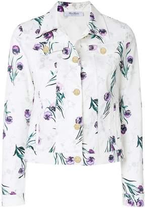 Max Mara floral printed jacket