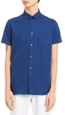 Calvin Klein Classic Short-Sleeve Cotton Sport Shirt
