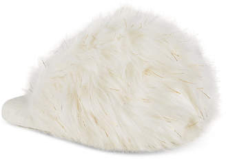 INC International Concepts I.N.C. Fluffy Faux-Fur Scuff Slippers, Created for Macy's