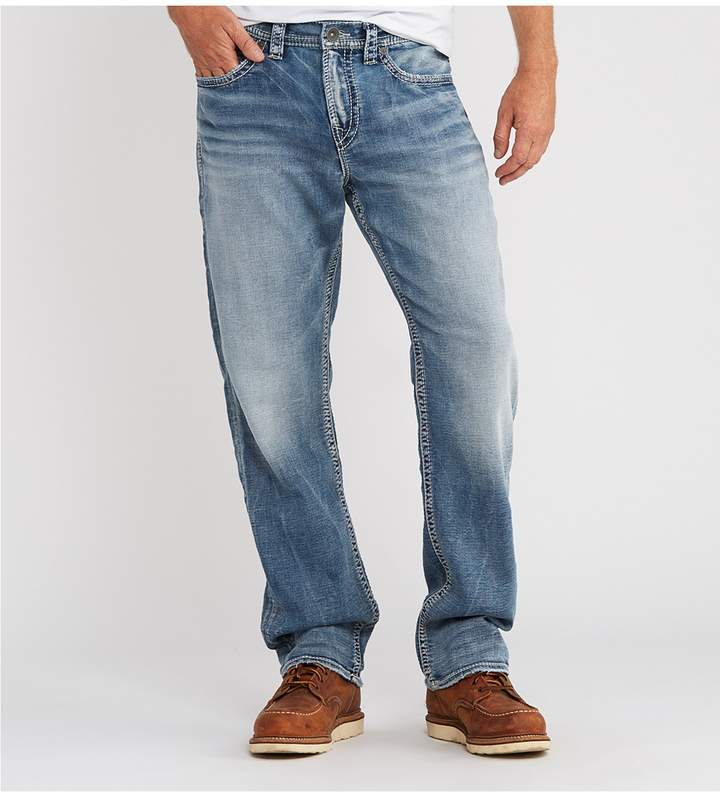 Silver Jeans Co. Big & Tall Grayson Easy-Fit Straight-Leg Jeans