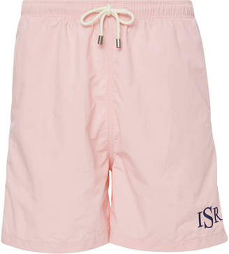 Solid & Striped The Classic Monogramed Swim Short