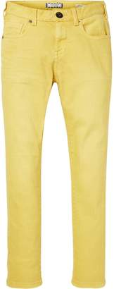 Scotch & Soda Yellow Trousers Skinny fit
