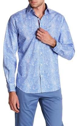 Bugatchi Print Classic Fit Shirt