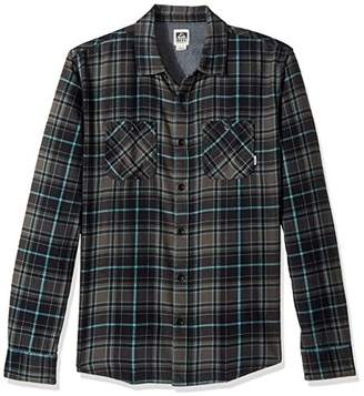 Reef Men's Cold Dip 10 Long Sleeve Plaid Flannel Shirt